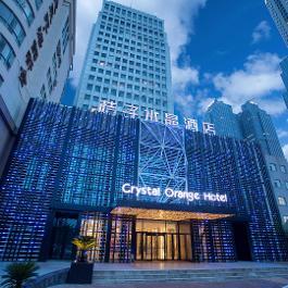 桔子水晶青岛五四广场海景酒店360全景图
