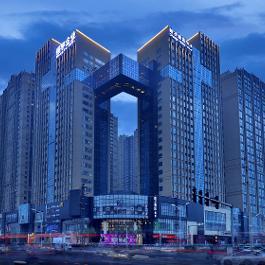 桔子平顶山建设中路酒店360全景图