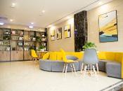 怡莱精品威海国际海水浴场山东大学酒店360全景图