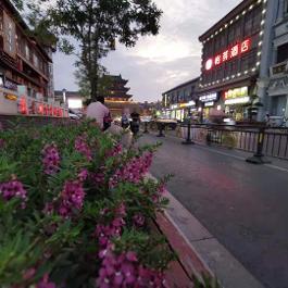 怡莱开封鼓楼夜市酒店360全景图
