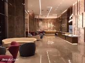 西安曲江美居酒店360全景图