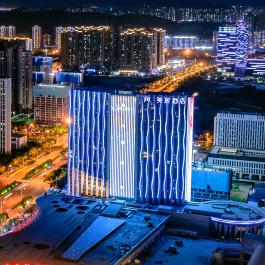 济南西站美居酒店360全景图