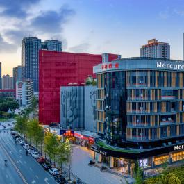 西安高新中心美居酒店360全景图