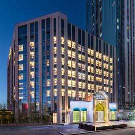 漫心济南高新区齐鲁软件园酒店360全景图