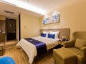 星程西安市政府酒店360全景图