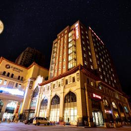 宜必思昌吉建设路小吃街酒店360全景图
